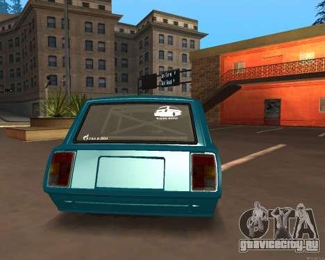 ВАЗ 2104 Falken для GTA San Andreas вид слева