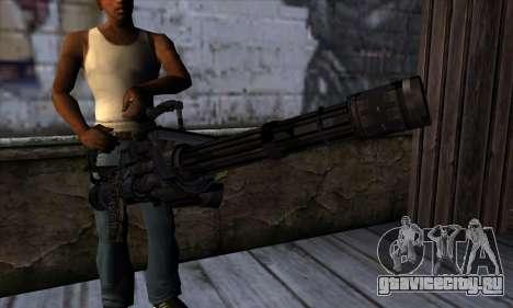 Пулемёт Вулкан v1 для GTA San Andreas третий скриншот
