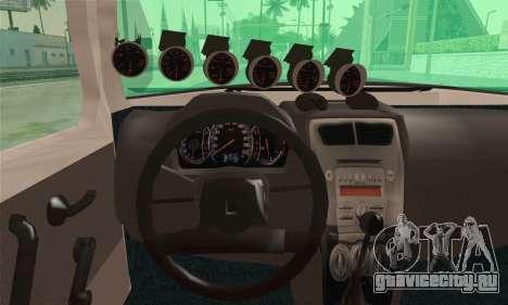 Daihatsu Mira Modified для GTA San Andreas вид сзади слева