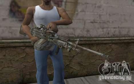 Minigun MK48 для GTA San Andreas третий скриншот