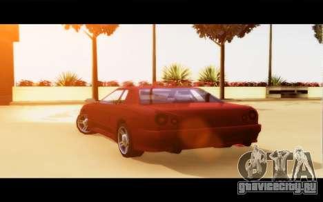 Elegy By Next для GTA San Andreas вид сзади слева