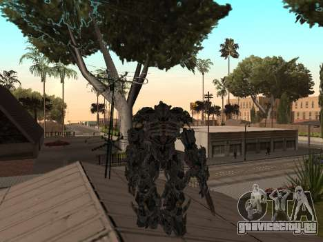 Transformers 3 Dark of the Moon Skin Pack для GTA San Andreas восьмой скриншот
