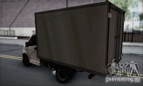 ГАЗель Next для GTA San Andreas