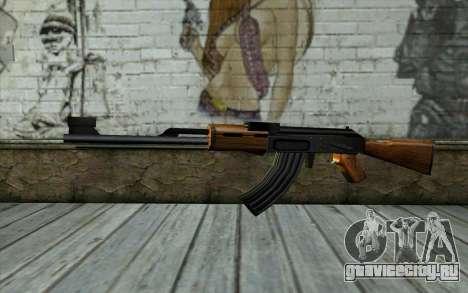 Retextured AK47 для GTA San Andreas