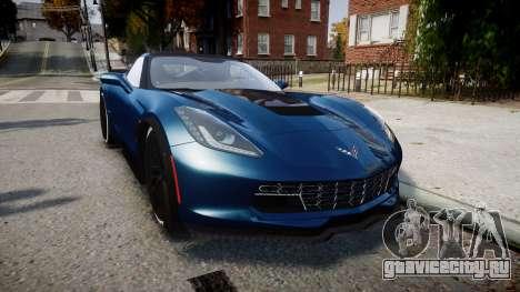 Chevrolet Corvette Z06 2015 TireBr3 для GTA 4