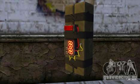 Stick Bomb from GTA 5 для GTA San Andreas