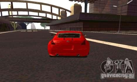 Nissan 350Z Tune для GTA San Andreas вид справа