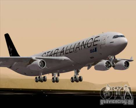 Airbus A340-300 All Nippon Airways (ANA) для GTA San Andreas