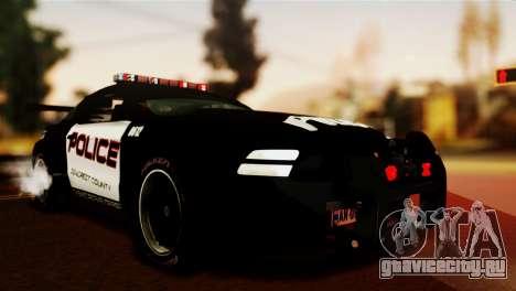 Ford Mustang GT-R Police для GTA San Andreas