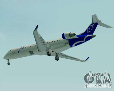 Embraer CRJ-700 China Express Airlines (CEA) для GTA San Andreas вид снизу
