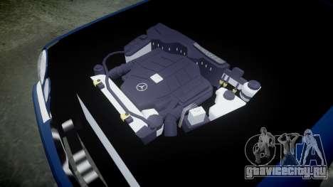 Mercedes-Benz W210 E55 2000 AMG Vossen VVS CVT для GTA 4 вид изнутри