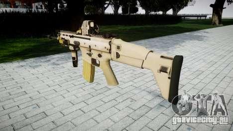 Автомат FN SCAR-L Mk 16 target icon3 для GTA 4 второй скриншот