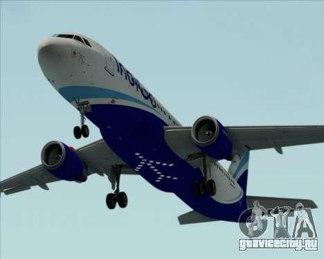 Airbus A320-200 IndiGo для GTA San Andreas двигатель