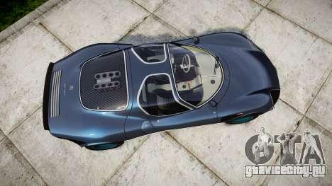 Alfa Romeo 33 Stradale для GTA 4 вид справа