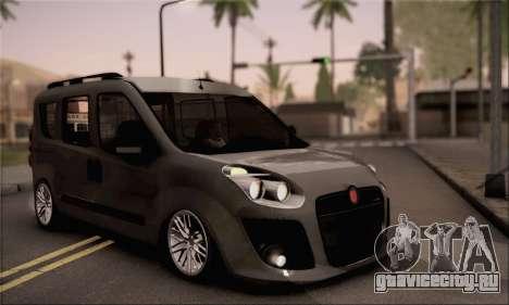 Fiat Doblo 2010 для GTA San Andreas
