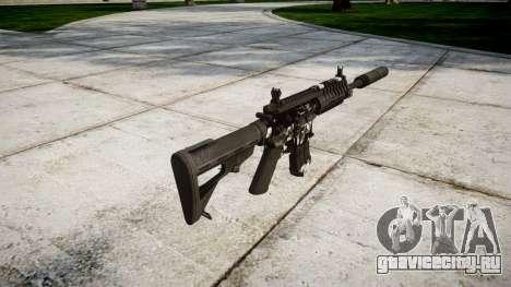 Автомат P416 silencer PJ3 для GTA 4 второй скриншот