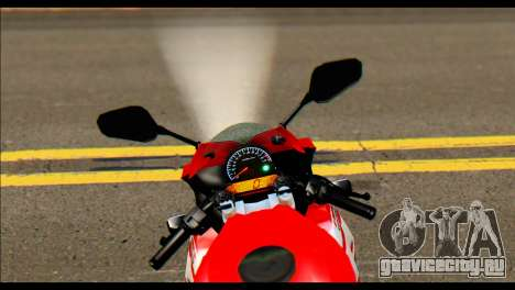 Honda All New CBR150R для GTA San Andreas вид сзади слева