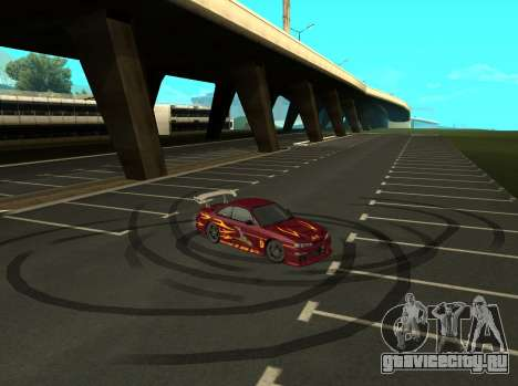 Nissan 200SX FnF1 (Letty car) для GTA San Andreas вид справа