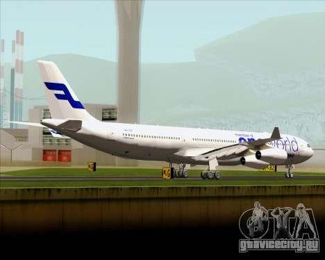 Airbus A340-300 Finnair (Oneworld Livery) для GTA San Andreas