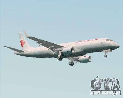 Embraer E-190 Air Canada для GTA San Andreas вид справа