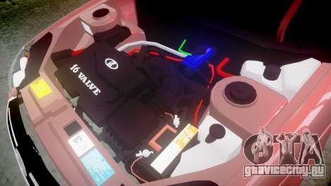 ВАЗ-2170 для GTA 4 вид изнутри