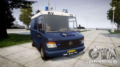Mercedes-Benz Vario 614D SWAT [ELS] для GTA 4