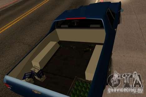 New picador для GTA San Andreas вид сзади слева