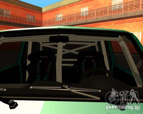 ВАЗ 2104 Falken для GTA San Andreas вид сзади