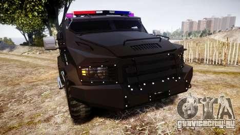 SWAT Van Metro Police для GTA 4