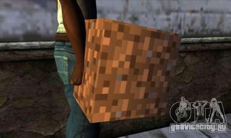Блок (Minecraft) v9 для GTA San Andreas третий скриншот