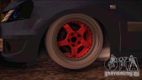 Dacia Logan MCV Tuning для GTA San Andreas вид сзади слева