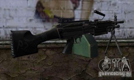 M249 v2 для GTA San Andreas второй скриншот
