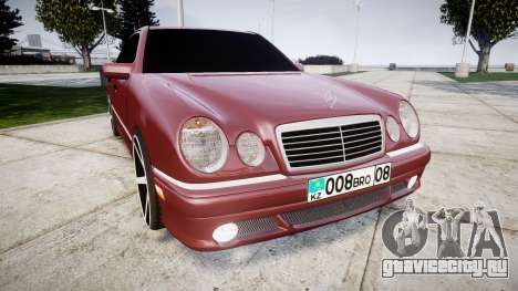 Mercedes-Benz W210 E55 2000 AMG Vossen VVS CV3 для GTA 4