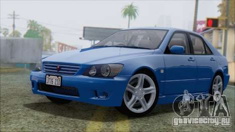 Toyota Altezza (RS200) 2004 (АПП) для GTA San Andreas