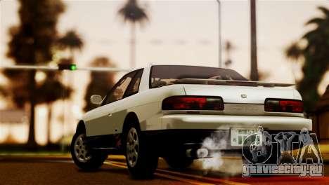 Nissan Silvia S13 1992 IVF для GTA San Andreas вид слева
