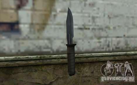 Retextured Knife для GTA San Andreas второй скриншот