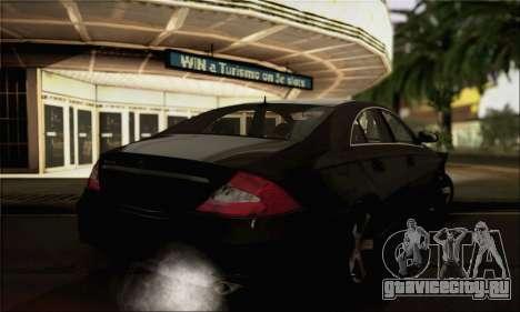 Mercedes-Benz CLS 500 для GTA San Andreas вид слева