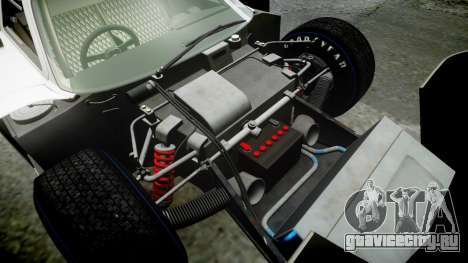 Ford GT40 Mark IV 1967 PJ Schila Racing 19 для GTA 4 вид сверху