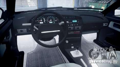 ВАЗ-21099 Спутник для GTA 4 вид изнутри