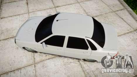 ВАЗ-2170 high quality для GTA 4 вид справа