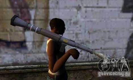 RPG from GTA 5 для GTA San Andreas третий скриншот