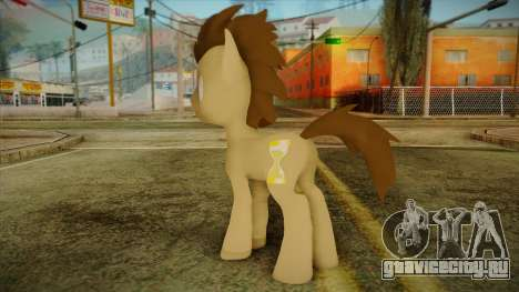Doctor Whooves from My Little Pony для GTA San Andreas второй скриншот