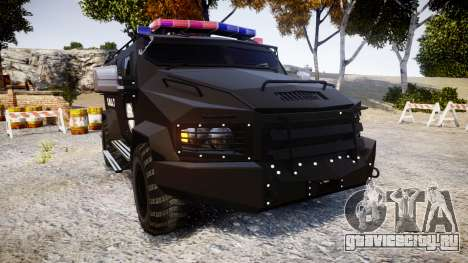 SWAT Van Metro Police [ELS] для GTA 4