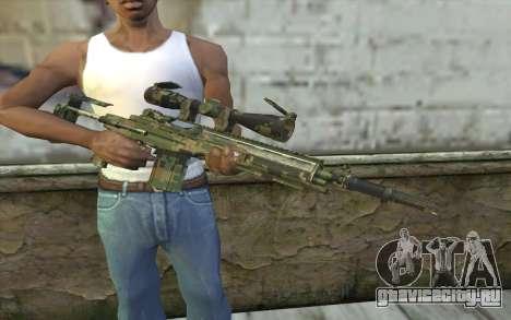 M14 EBR Digiwood для GTA San Andreas третий скриншот