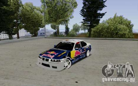 BMW E36 Red Bull для GTA San Andreas