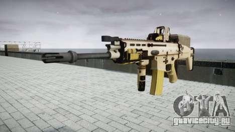 Автомат FN SCAR-L Mk 16 target icon3 для GTA 4