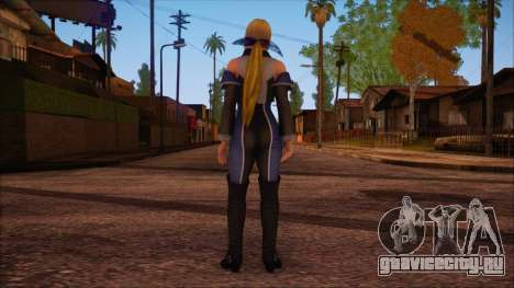 Modern Woman Skin 3 v2 для GTA San Andreas второй скриншот