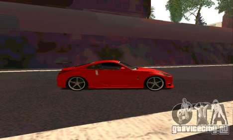 Nissan 350Z Tune для GTA San Andreas вид сзади слева