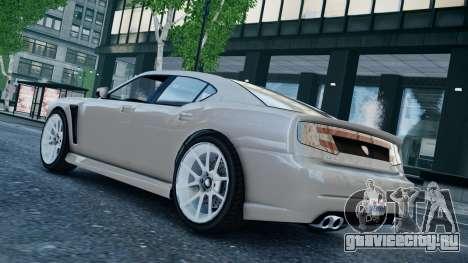 GTA 5 Bravado Buffalo для GTA 4 вид сзади слева