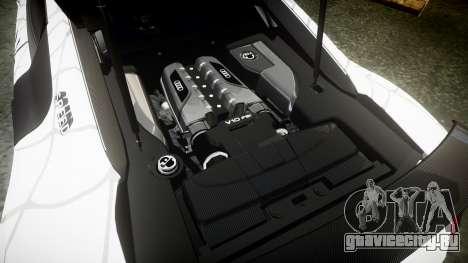 Audi R8 LMX 2015 [EPM] Cobweb для GTA 4 вид сбоку